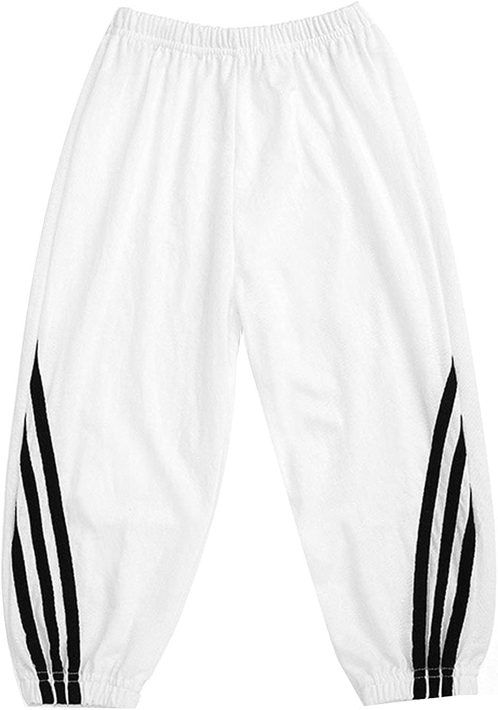 Kaerm Kids Girls Boys Dance Pants Casual Loose Sweatpants Jogger Bottoms Bloomers Harem Pants Trousers