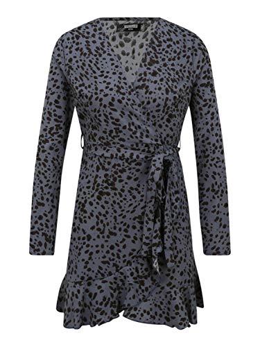 Missguided (Petite) Damen Kleid schwarz 12 (40)