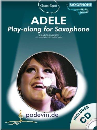 Adele - Play-along for Saxophone - Altsaxophon Noten [Musiknoten]
