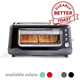 Dash Clear View Toaster: Extra Wide Slot Toaster with Stainless Steel...