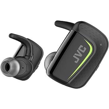JVC HA-ET900BT 完全ワイヤレスイヤホン Bluetooth/防水(IPX5対応)/最大9時間再生 ブラック HA-ET900BT-B
