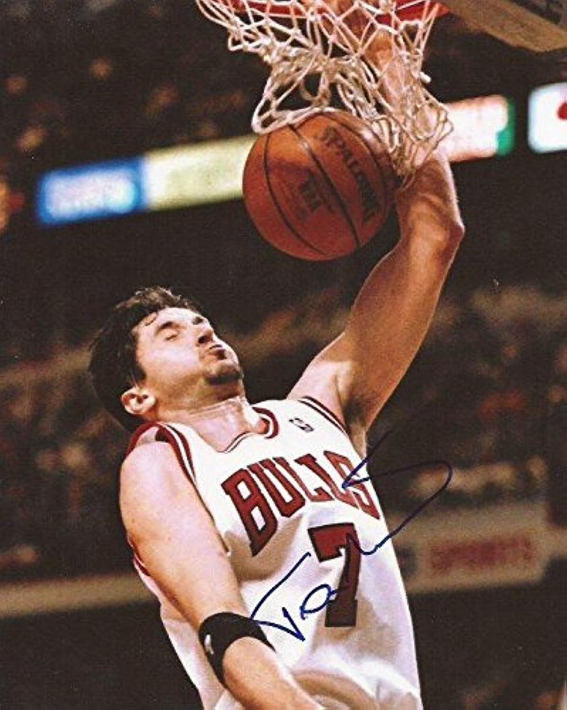 Autographed Kukoc Picture  8x10  Autographed NBA Photos