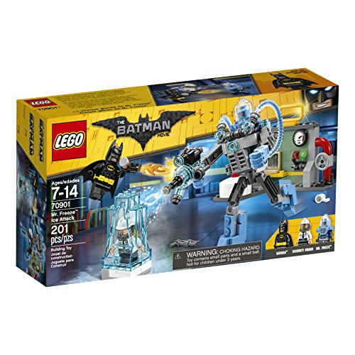 Mr. Freeze Ice Attack Lego Batman set for Dc fans gift idea