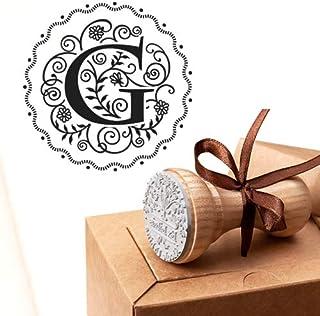 Timbro Lettera G Iniziali Timbri Lettere Alfabeto Monogramma G Idee Regalo Aziendale