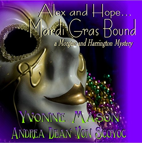 Mardi Gras Bound audiobook cover art
