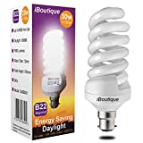 iBoutique 30W Bayonet (B22) Daylight Energy Saving Light Bulb Equivalent Output 150 Watts (Full Spectrum)...