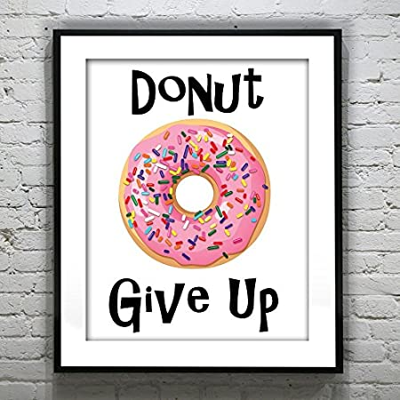 Donut Worry Poster TV Show Posters Streetwear Wall Art Urban Wall Art Movie Poster Hypebeast Poster