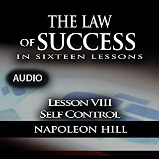 The Law of Success, Lesson VIII: Self Control audiobook cover art