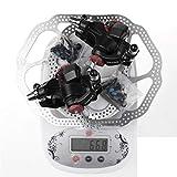 3.0 Frenos de Disco MTB Frenos de Disco de Bicicleta de montaña Estribos mecánicos Piezas de Bicicleta 1 par / 2 Piezas Accesorios de Freno de Disco Brake and Rotor