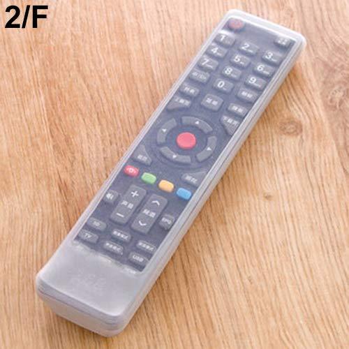 GlobalDeal Direct Home TV Fernbedienung Set Wasserdicht Staub Silikon Schutzhülle Hülle 2/F