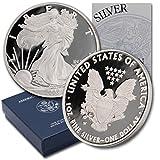 2003 W American Silver Eagle $1 Proof w/OGP & COA