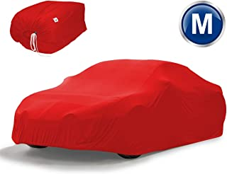Ideale per Proteggere la Tua Auto da Graffi XL - 540 x 175 x 120 cm Raggi Solari Pioggia Polvere Grandine Ducomi TeloMugello Telo Copriauto Impermeabile con Banda Elastica