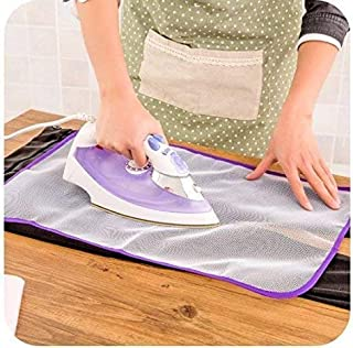 Ironing Pad Cover Mat Sheet Protective Insulation Scorch Mesh Cloth- Assorted Color
