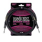 Ernie Ball 6 'Cable de altavoz recto/recto