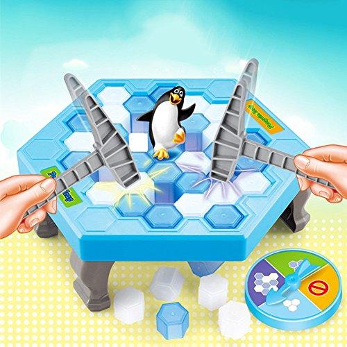 Catkoo Salva Penguin Ice Block Breaker Trap Giocattoli Divertenti Genitori Bambini Gioco da Tavolo per Bambini, Addestramento Perfetto Regali di Intelligenza per Bambini