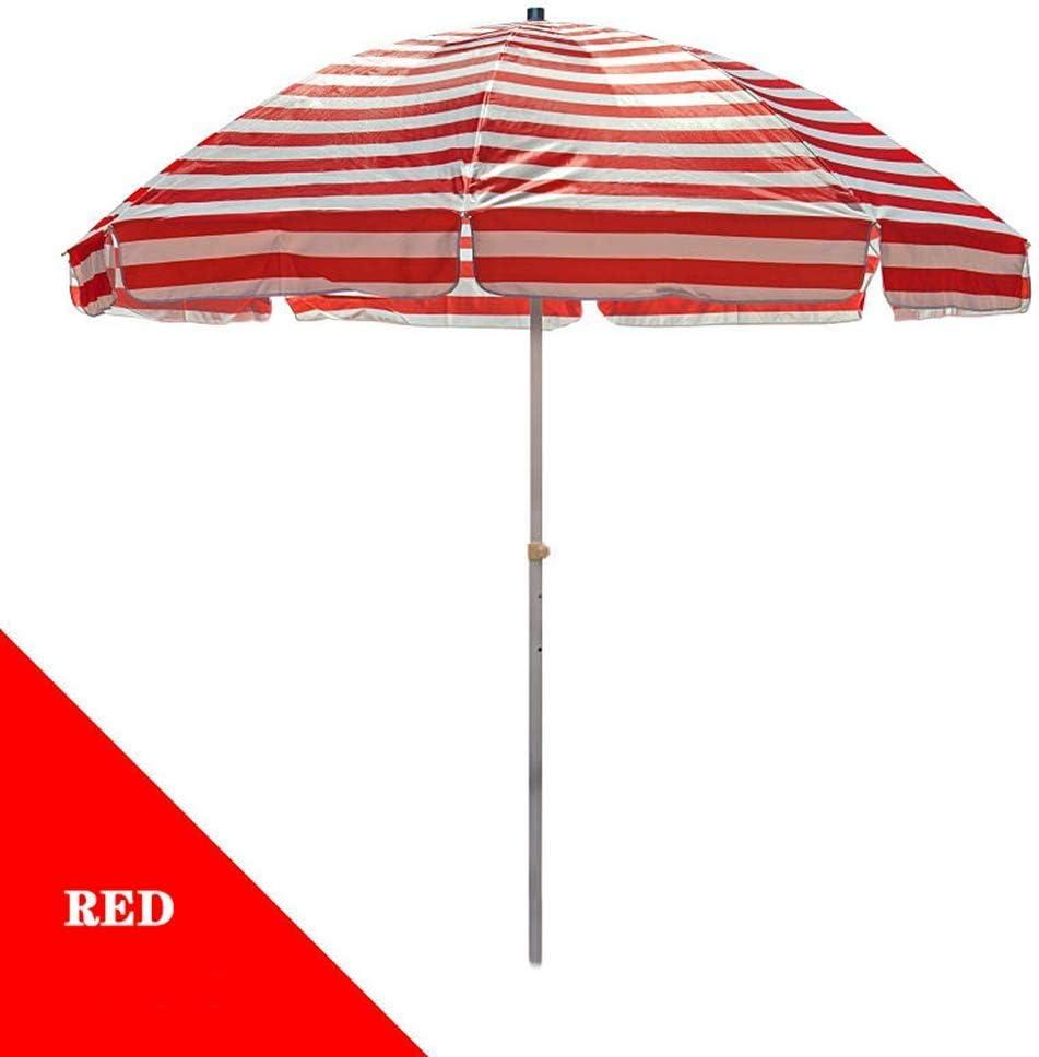 NEW before selling BAIYAN Umbrella, 2M 2.2M 2.5M Beach Umbrella Garden Stripe Umb Sacramento Mall