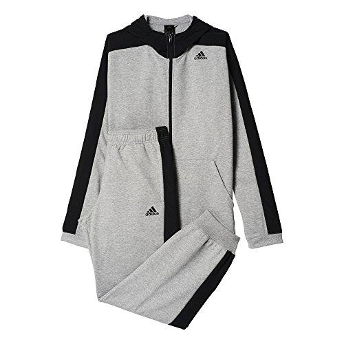 Adidas TS Ho Jo Survêtement Homme, Gris/Bleu, FR : M (Taille Fabricant : 174)
