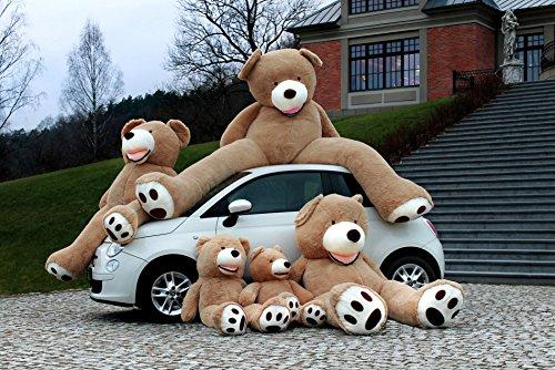 Teddybär Groß - Riesen Teddybären - Baby Kuscheltiere Riesen Teddy 130 cm - Kuscheltier Für Babys Großer Teddy Bär - Geschenk Freundin, Geschenkideen Zum Geburtstag, Geschenke Zum Jahrestag – Braun