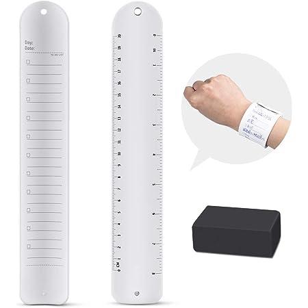 メモ帳 バンドタイプ 腕 メモ 消せる シリコンメモ リストバンド 平底 消しゴム付き
