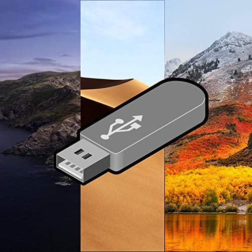 Catalina 10.15, Movaje 10.14 and High Sierra OS 10.13 - 3 in 1 Bootable USB