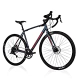 "Royce Union Men's' Gravel Bike 27.5"" or 700c Wheels, Lightweight Aluminum w/Shimano"