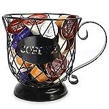 Kaffeekorb | Mehrfachschalenhalter | Espressohalter | Kaffeepadständer | Aufbewahrung in der Küche | Halter für Kaffeekapseln | M & W