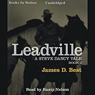 Leadville audiobook cover art