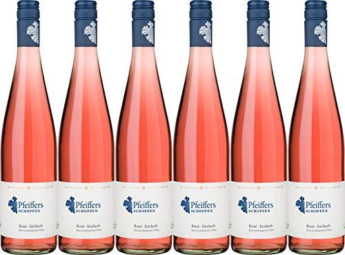 Hoflößnitz Pfeiffers Schoppen Rosé 2018 Feinherb Ecovin Bio (6 x 0.75 l)