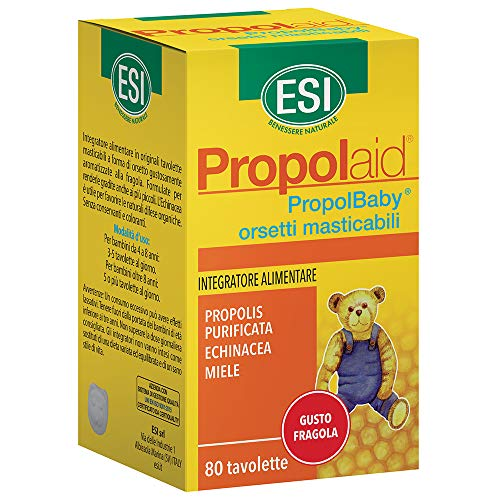ESI PropolBaby Ositos Complemento Alimenticio - 80 Tabletas