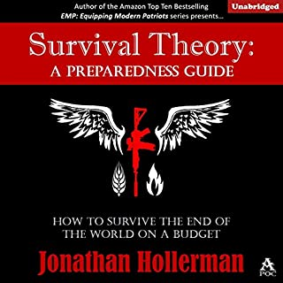 Survival Theory audiobook cover art