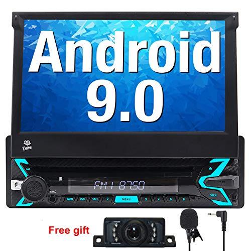 FOIIOE Android 9.0 Autoradio 1 DIN Radio Coche soporta