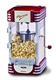 Ariete Party Time Máquina de palomitas XL, 310 W, 2.4 l, Inoxidable/Plastico, Rojo, Color blanco