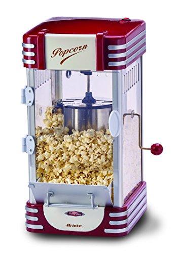 Ariete Macchina per pop-corn, 2953,2,4 l, 310W, colore: rosso/bianco, 290x 340x 520mm