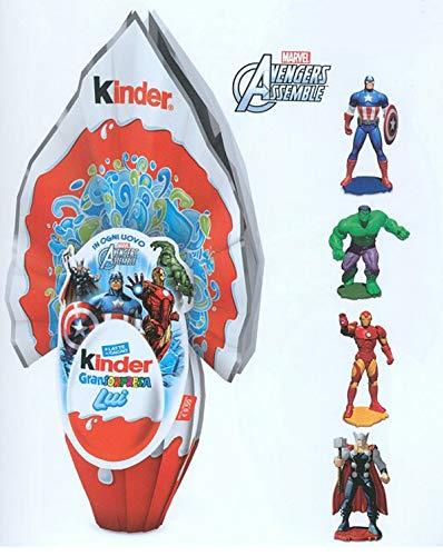 Uovo di cioccolato Kinder Gran Sorpresa Marvel Avengers con fantastica sorpresa 150 gr