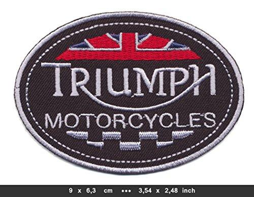 Triumph Patches Aufnäher Motorrad Motorcycles England v3