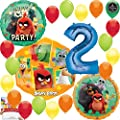 Angry Birds 2 Party Supplies Birthday Balloon Decoration Bundle 2nd Birthday