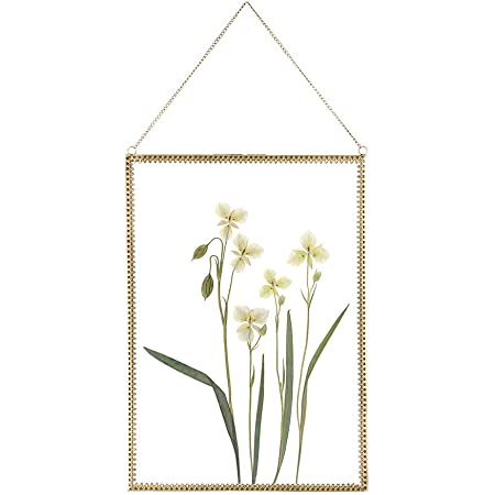 Vintage frame Fiona hanging frame a decorative frame of pressed flowers dried flowers unique floral gift.
