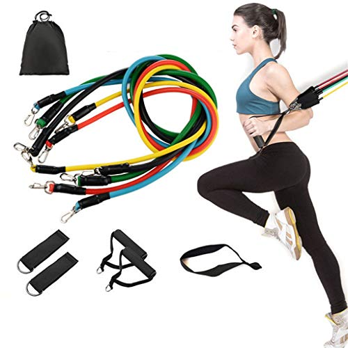 W-xiao Band, Door Trainer, Household Resistance Multifunctional Fitness Equipment, 11-piece Set, Home Training Outdoor Training