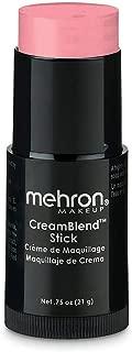 Mehron Makeup CreamBlend Stick (0.75 Ounce) (PINK)