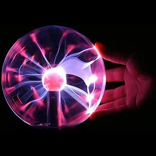 AOKARLIA Sensibile al Tocco della Sfera del Plasma della Luce del Lampo della Sfera Magica Luce Sfera per Feste Bambini la casa e da Regalo,Picture Prop Decorazioni Camera da Letto