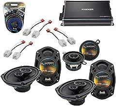 Compatible with Chrysler 300 2005-2007 OEM Speaker Upgrade Harmony (2) R69 R35 & CXA300.4 Amp (Renewed)
