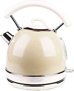 Home, Retro Lon g Mouth Teapot, 1800W, 1.7L Electric Kettle, 304 Stainless Steel Kettle, Household Large Capacity Electric...