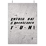 HAPPY FREAKS Poster 'Tun' DIN A2 - Motivations-Wandbild -