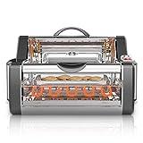 NutriChef Countertop Rotisserie Oven - Roaster Oven  Shawarma Machine  Kebab Machine  Stain...