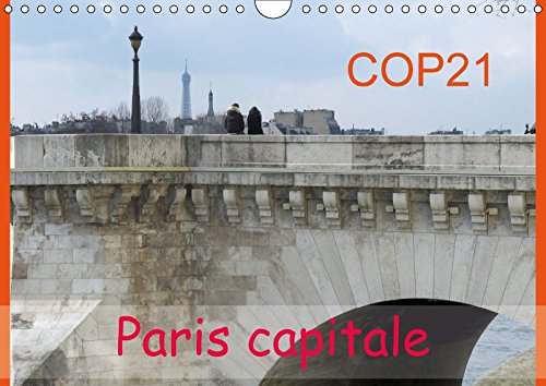 COP21 Paris capitale (Calendrier mural 2018 DIN A4 horizontal): Pour la conférence du climat à Paris, la COP21, la photographe Capella présente la ... ... La Tour Eiffel Sous Influence Climatique.