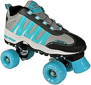 Pacer Sonic Cruiser Mens & Womens Skates - Roller Skates for Women & Men - Adjustable Roller Skate/Rollerskates - Outdoor & Indoor Adult Skate - Kid/Kids Skates (Teal)
