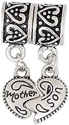 GemStorm Silver Plated Dangling Womens Jacket Clip On Lobster Clasp Charm