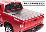 BAK BAKFlip G2 Hard Folding Truck Bed Tonneau Cover | 226426 | Fits 2016-20 Toyota Tacoma, w/OE track system 5' Bed