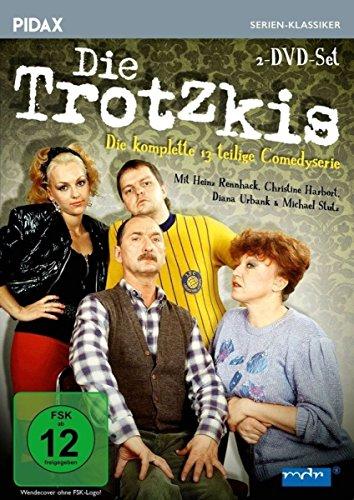 Die Trotzkis / Die komplette 13-teilige Comedyserie (Pidax Serien-Klassiker) [2 DVDs]