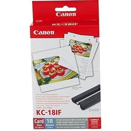 1x Original Canon Multipack Kc 18if Kc18if Für Canon Selphy Cp 900 54x86mm 18 Blatt 1x Kartusche Farbig Bürobedarf Schreibwaren